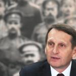 Нарышкин посоветовал «не верить басням» на вопрос о работе разведки :: Политика :: РБК