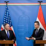 Глава МИД Венгрии заявил Помпео о лицемерии в Европе из-за России :: Политика :: РБК