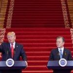 Трамп стал первым ступившим на землю Северной Кореи президентом США :: Политика :: РБК